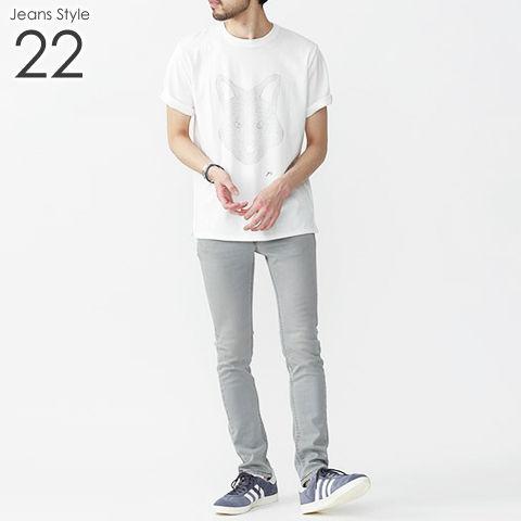 メンズ デニム ジーンズ コーデ 22