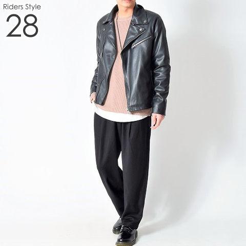 ライダース メンズ コーデ 28