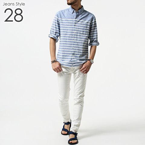 メンズ デニム ジーンズ コーデ 28