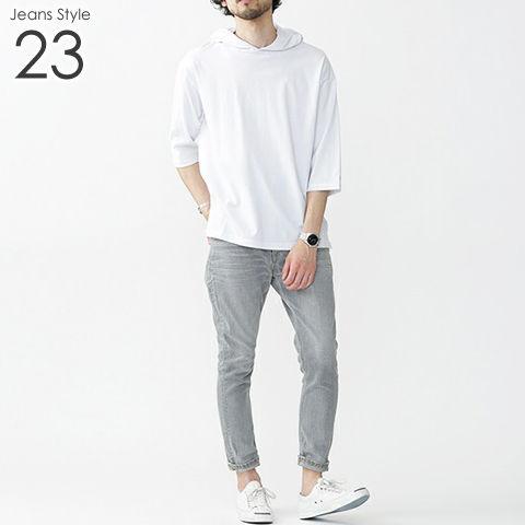 メンズ デニム ジーンズ コーデ 23