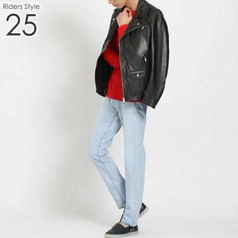 ライダース メンズ コーデ 25