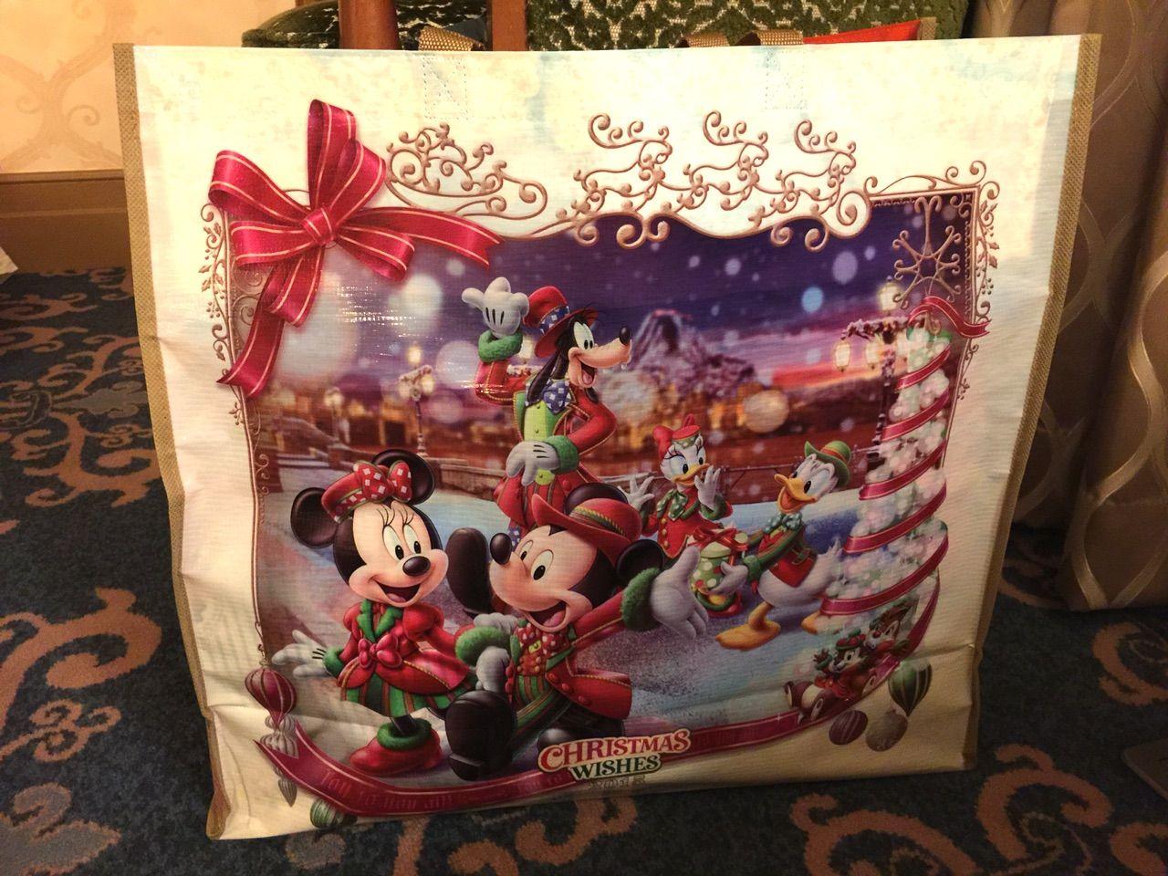 クリスマスインで買ったショッピングバッグ : コイケの(お泊まり