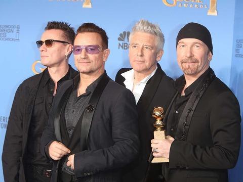 「U2」が2018年度最も稼いだミュージシャンに