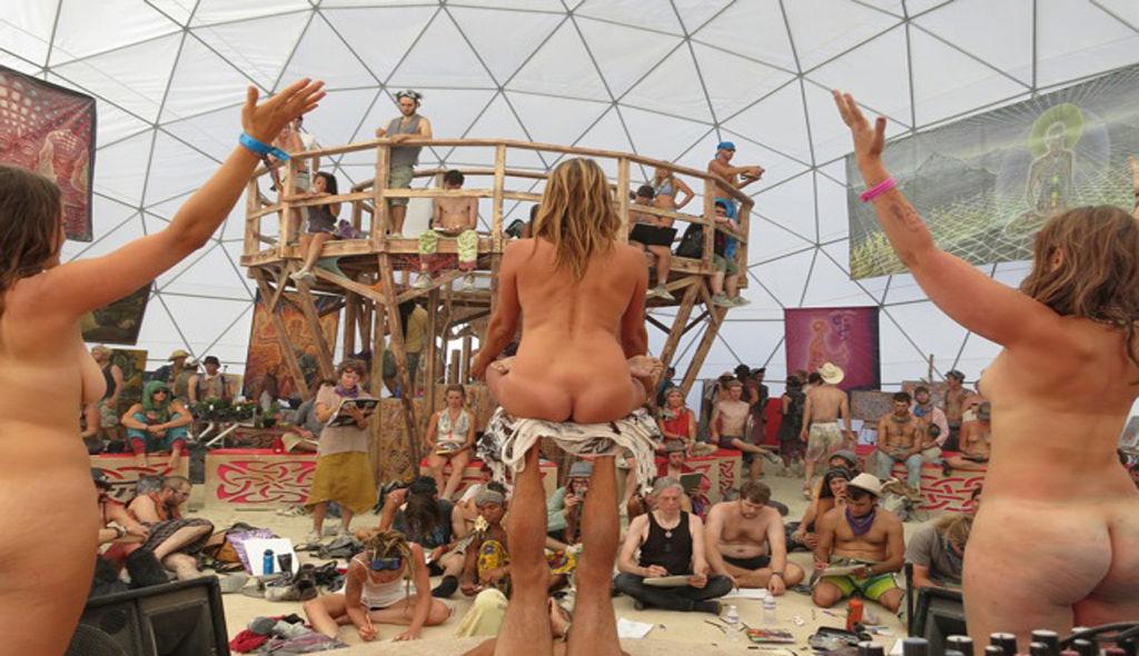 Burning man orgy photos