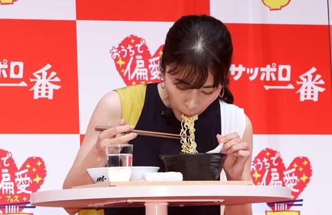 【芸能】#竹内結子さん 「サッポロ一番何袋あるでしょうか」 9月1日に最後の投稿  [ばーど★]