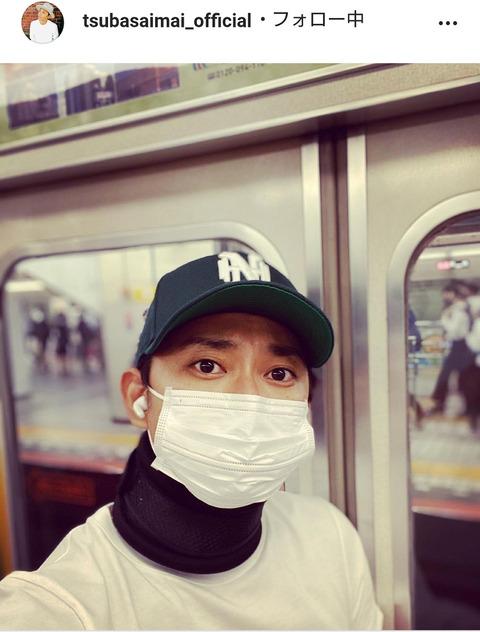 【芸能】#今井翼 、普通に電車に乗る姿に驚きの声「遭遇したら腰抜かします」「5度見くらいしちゃいますね」  [湛然★]