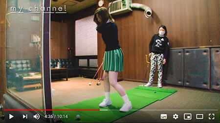 【白石麻衣】「恥ずかしいけど…」膝上スカートでゴルフ初挑戦  [首都圏の虎★]