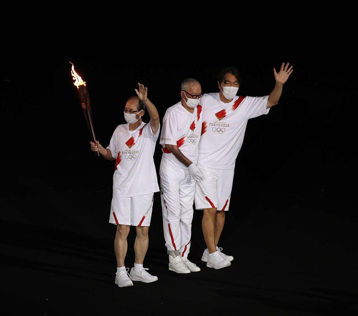 【東京五輪】予想通り開会式、長嶋茂雄・王貞治・松井秀喜が聖火ランナーに