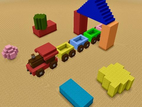 おもちゃの列車s