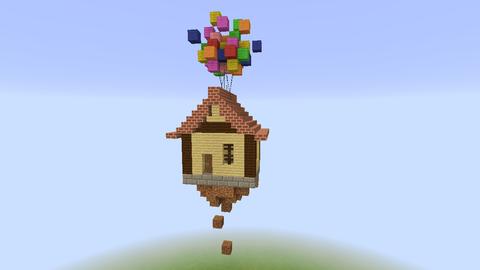 ミニ空飛ぶ家