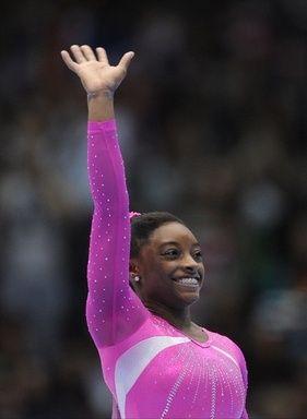 アメリカの体操選手シモーン・バイルス