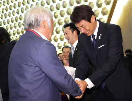 東京五輪開催が決まり号泣する松岡修造さん