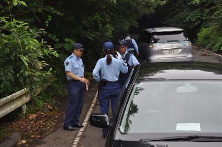広島少女殺害事件現場の灰ヶ峰