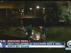 崩壊事故のあったレストランShuckers Bar & Grill