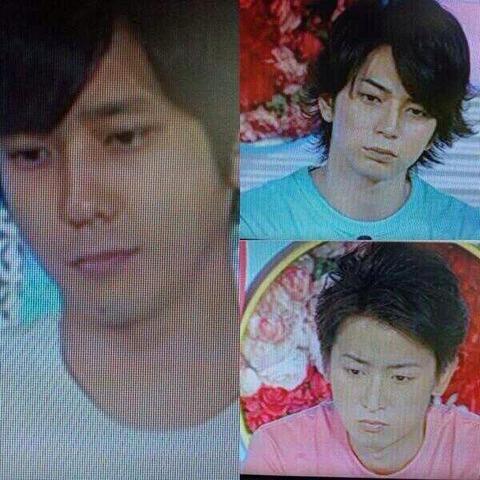 AKB48が歌ってる時の嵐のメンバーの顔