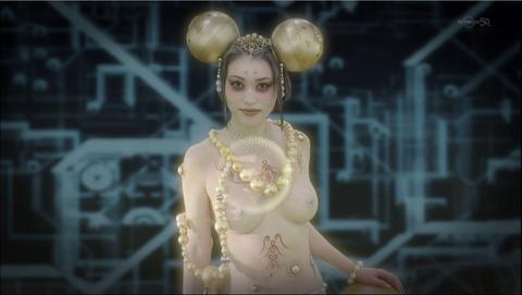 衝撃ゴウライガンでおっぱい丸出しの妖精ナヴィ