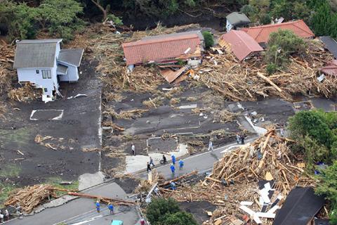 伊豆大島台風26号の被害で13人死亡