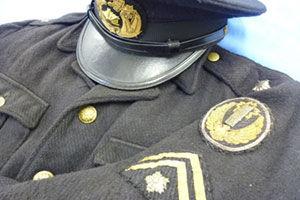 警察官の制帽