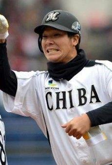 千葉ロッテ神戸拓光選手