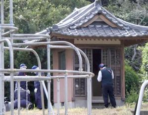 2カ月半ぶりに女子高生が発見された千葉県茂原市の神社