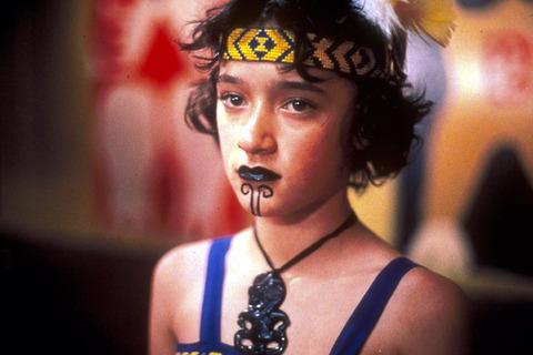 マオリ族の女性のタトゥー