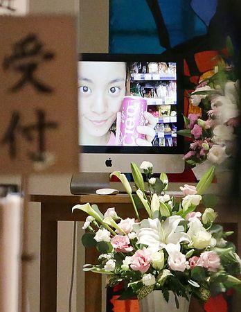 鈴木沙彩さんの葬式の写真