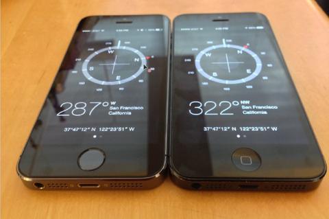 モーションセンサーに不具合が見つかったiPhone 5s