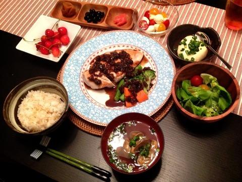 里田まいの手料理