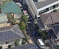 東京三鷹女子高生殺害事件の被害者の鈴木沙彩さん宅