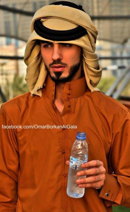 イケメンすぎるイラク出身のモデル・オマール