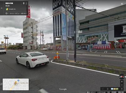 国道30号線 - Google マップ (1)