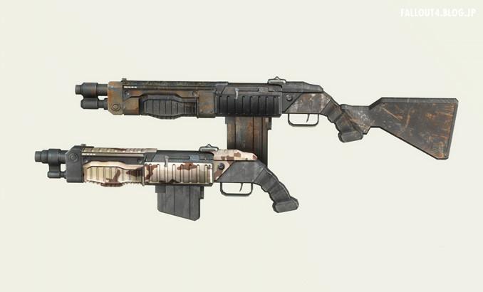 Skibadaa Weapon Pack REDUX v1 1b : Fallout4⚡情報局