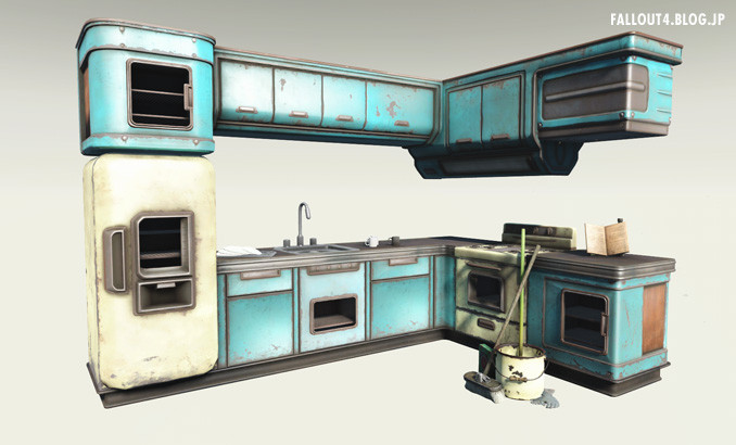 fallout4 modular kitchen. Black Bedroom Furniture Sets. Home Design Ideas