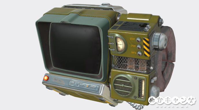 Pip-Boy-2000-MK-VII塗装