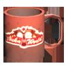記念品のコーヒーカップ