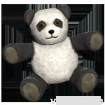 輸入されたパンダ