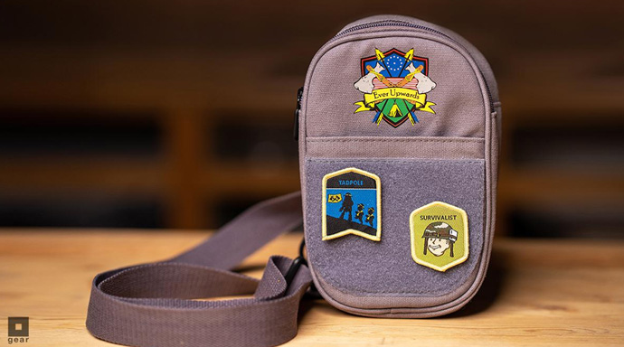 Fallout 3 4 Official Vault 76 Embroidered Patch Zip Wallet Purse 76 New