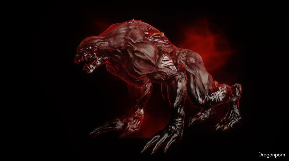 Demon werewolf skyrim
