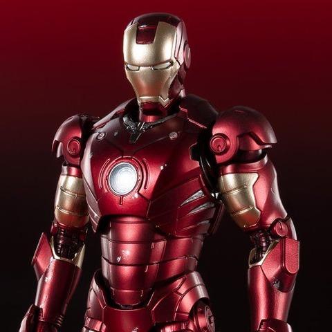 """7月5日まで!【開催記念商品/当日販売】SHFiguarts アイアンマンマーク3 《Birth of Iron Man》 EDITION‐(アイアンマン)& SHFiguarts 孫悟空少年期""""大冒険の始まり"""""""