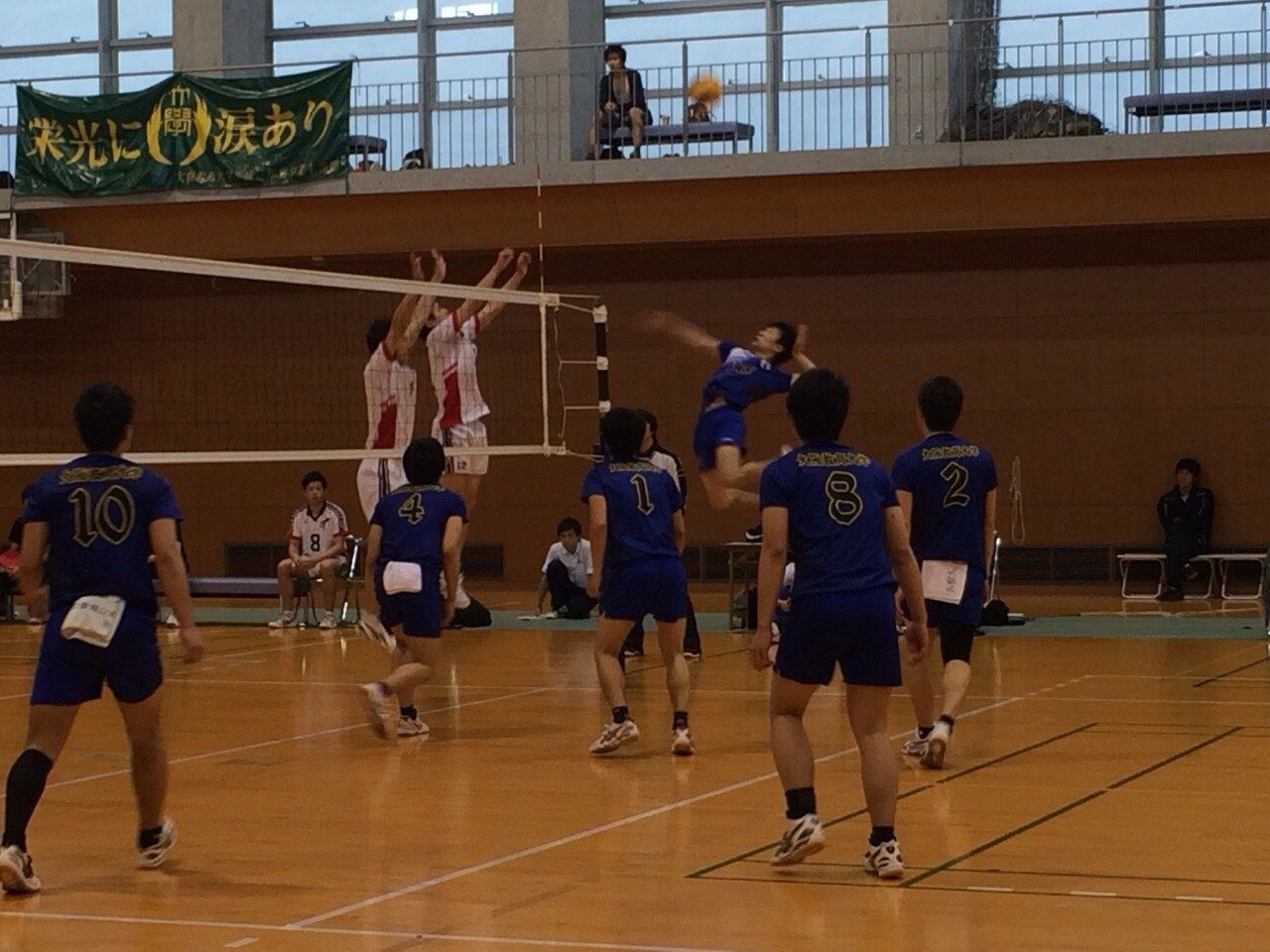 大阪教育大学 男子バレーボール部 : 2014 春季リーグ戦