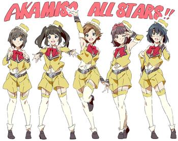 WakeUp,Girls! ステージの天使 赤味噌オールスターズ