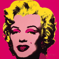 アンディ-ウォーホル-マリリン・モンロー-1967-ホットピンク