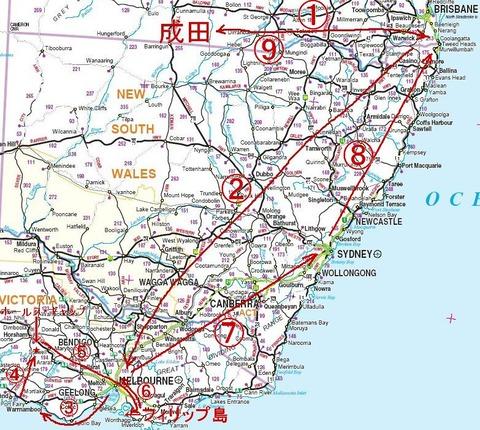 1Australia_map南東部-2