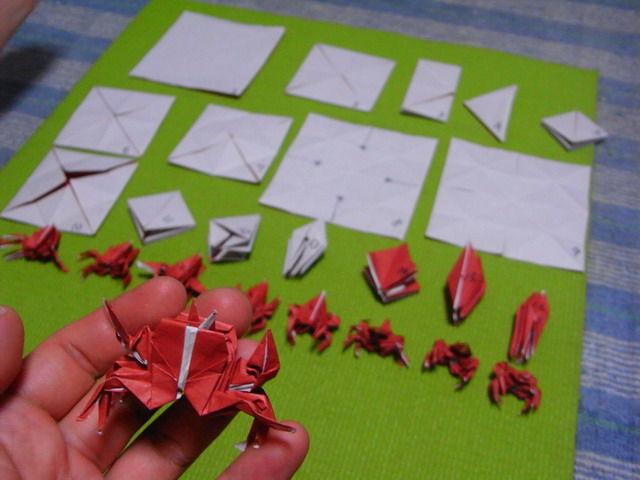 ハート 折り紙 かに 折り紙 : blog.livedoor.jp
