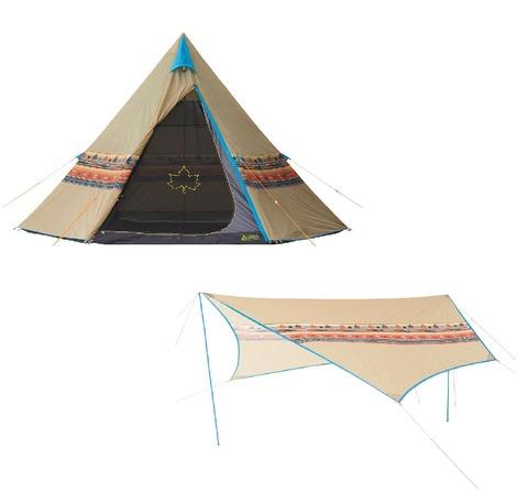 ナバホ テント、タープ