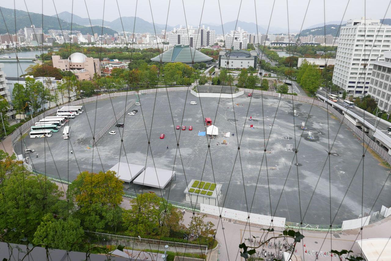 旧広島市民球場_カープ_おりづるタワー