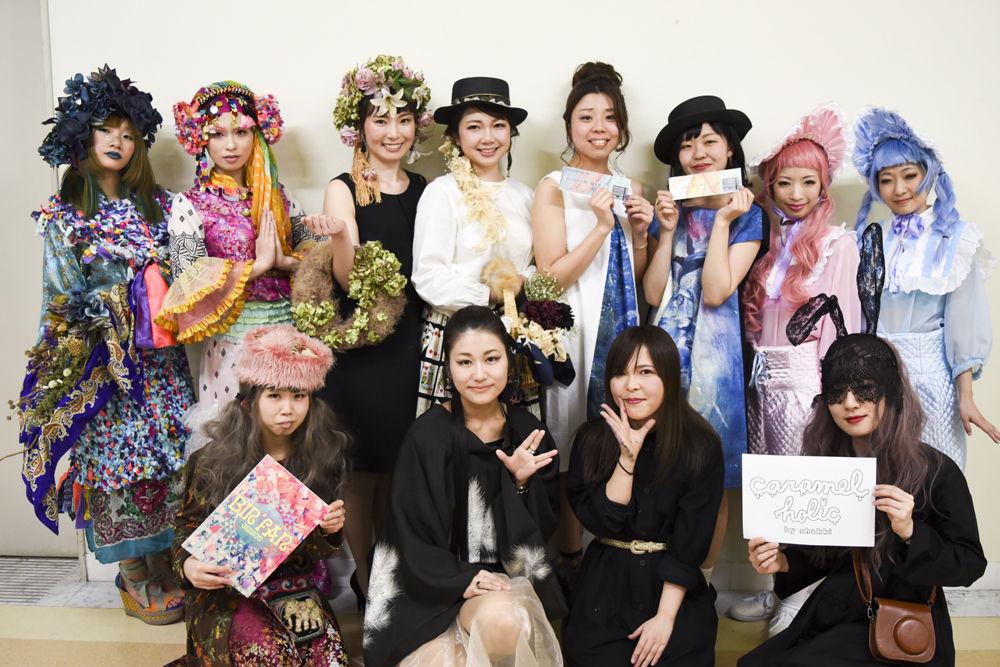 ファッションショー_fashonshow_広島アート物産展