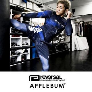 【REVERSAL × APPLEBUM】 NIGHT EARTH ショーツ、スパッツ&ラッシュガード
