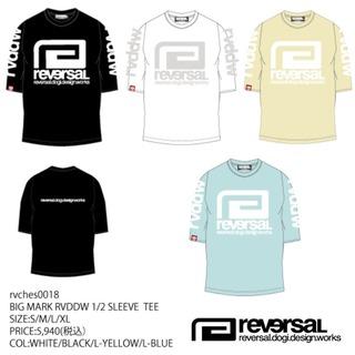 九州限定ライン 【reversal リバーサル】BIGMARK RVDDW 5分袖Tシャツ