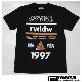 文句なしのデザインです 【reversal リバーサル】1997 WORLD TOUR DRY MESH TEE